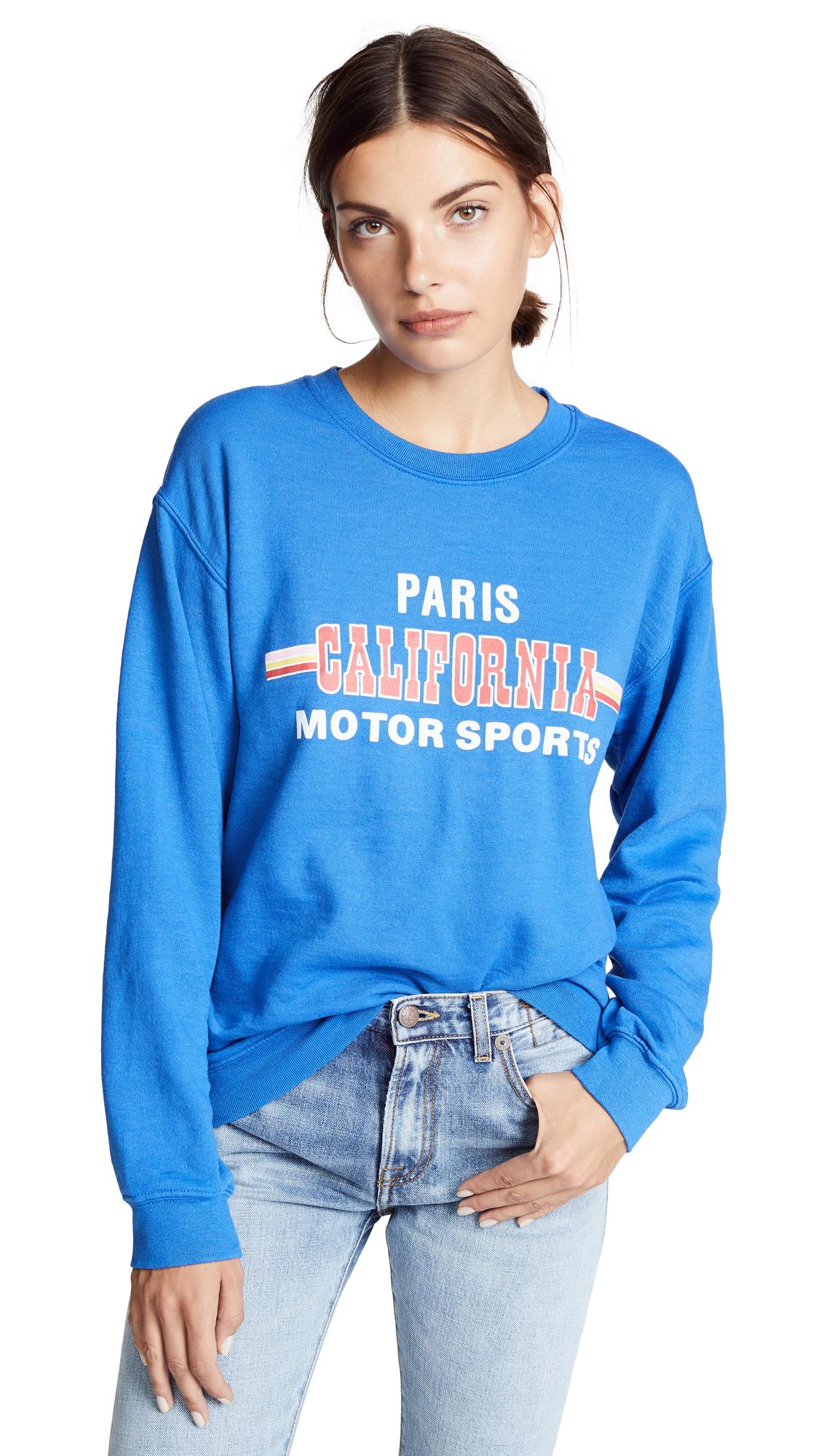 Rxmance Paris CA Sweatshirt In Royal