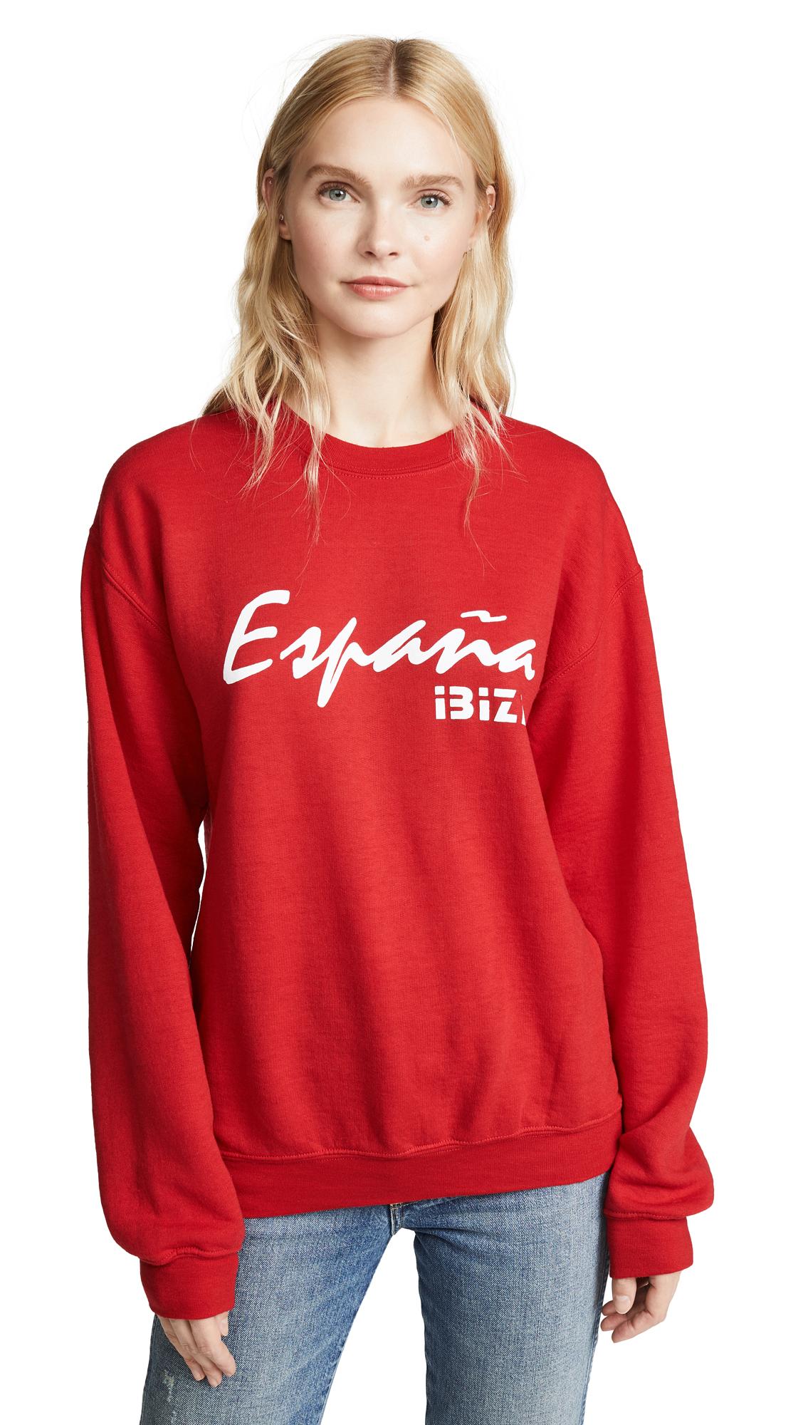 RXMANCE Espana Sweatshirt in Faded Red