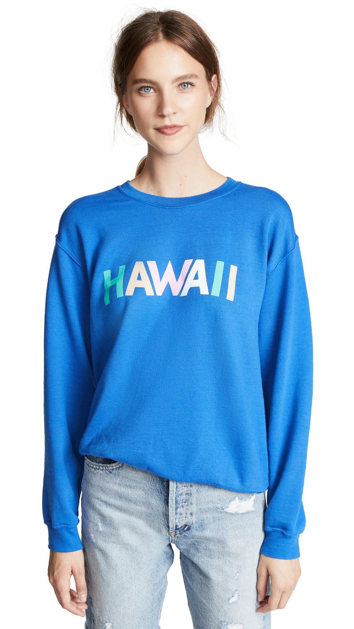 RXMANCE Hawaii Sweatshirt in Royal