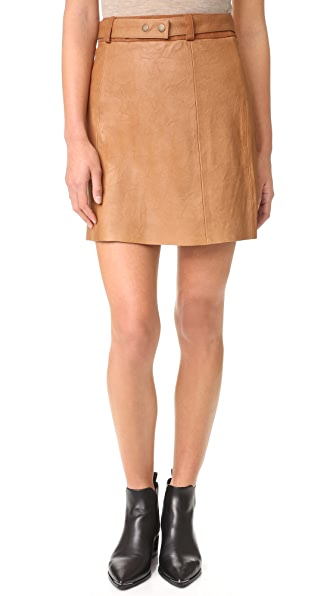 Ryder Jackson Leather Skirt