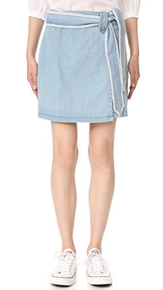 Ryder Evie Denim Skirt - Light Blue