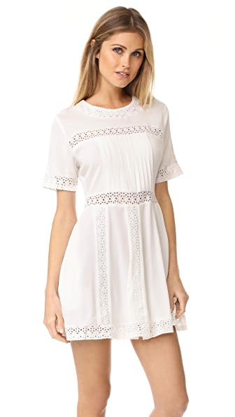 Ryder Camille Lace Dress - White