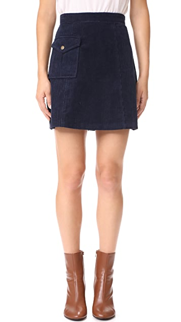 Ryder Claire Cord Skirt