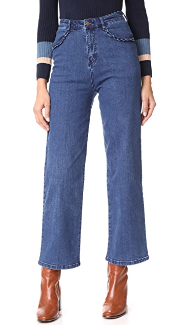 Ryder Morgan Ruffle Jeans