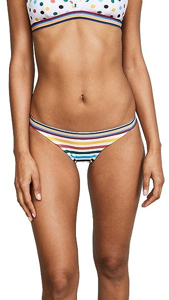 RYE Fwip Bottoms in Candy Stripe/Spot