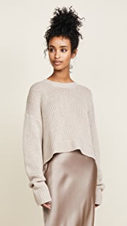 Sablyn Mercy Cropped Cashmere Sweater