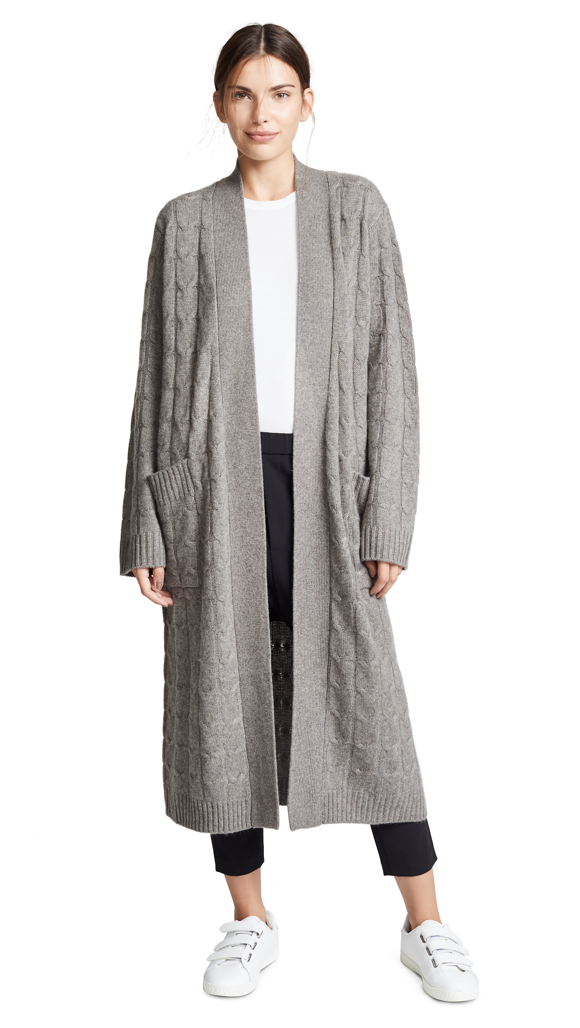 SABLYN VANESSA LONG CASHMERE COAT