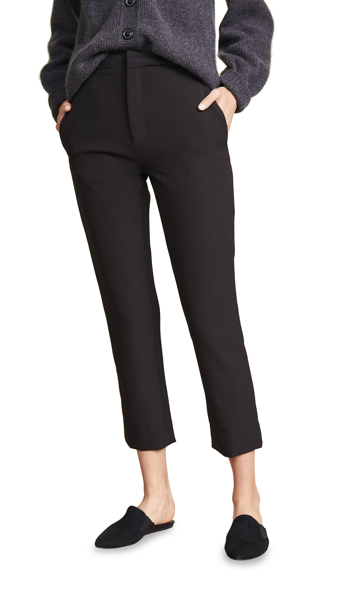SABLYN Margarita High Waisted Skinny Pants in Black