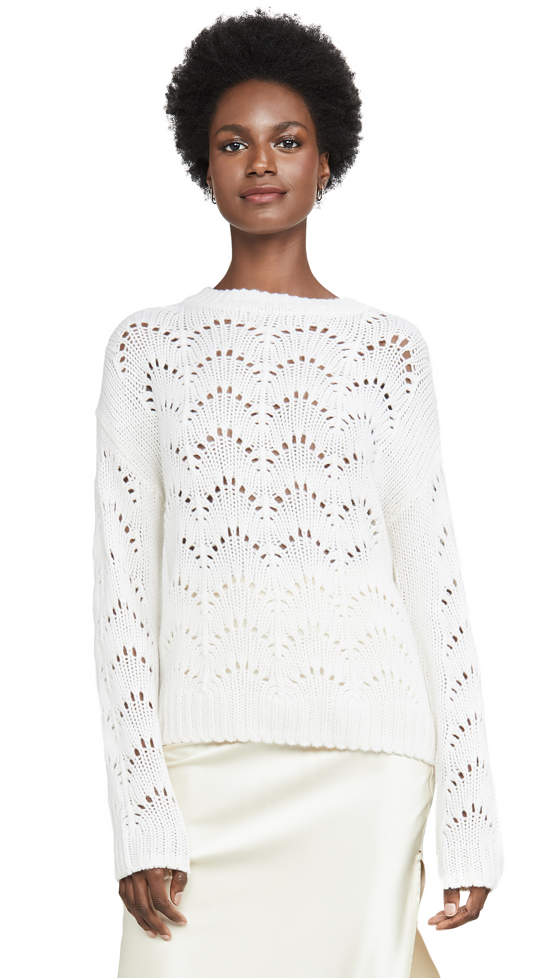 Buy Sablyn online - photo of Sablyn Stevie Knit Cashmere Sweater