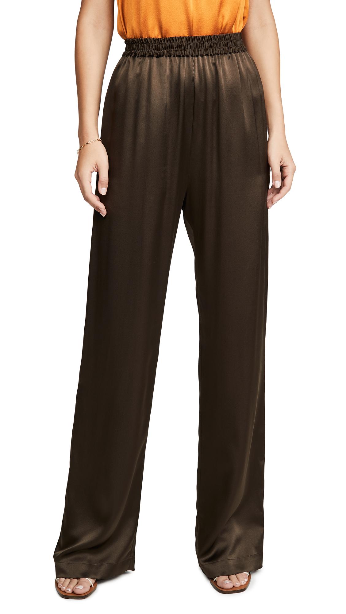 Buy Sablyn online - photo of Sablyn Penelope Silk Wide Leg Pants