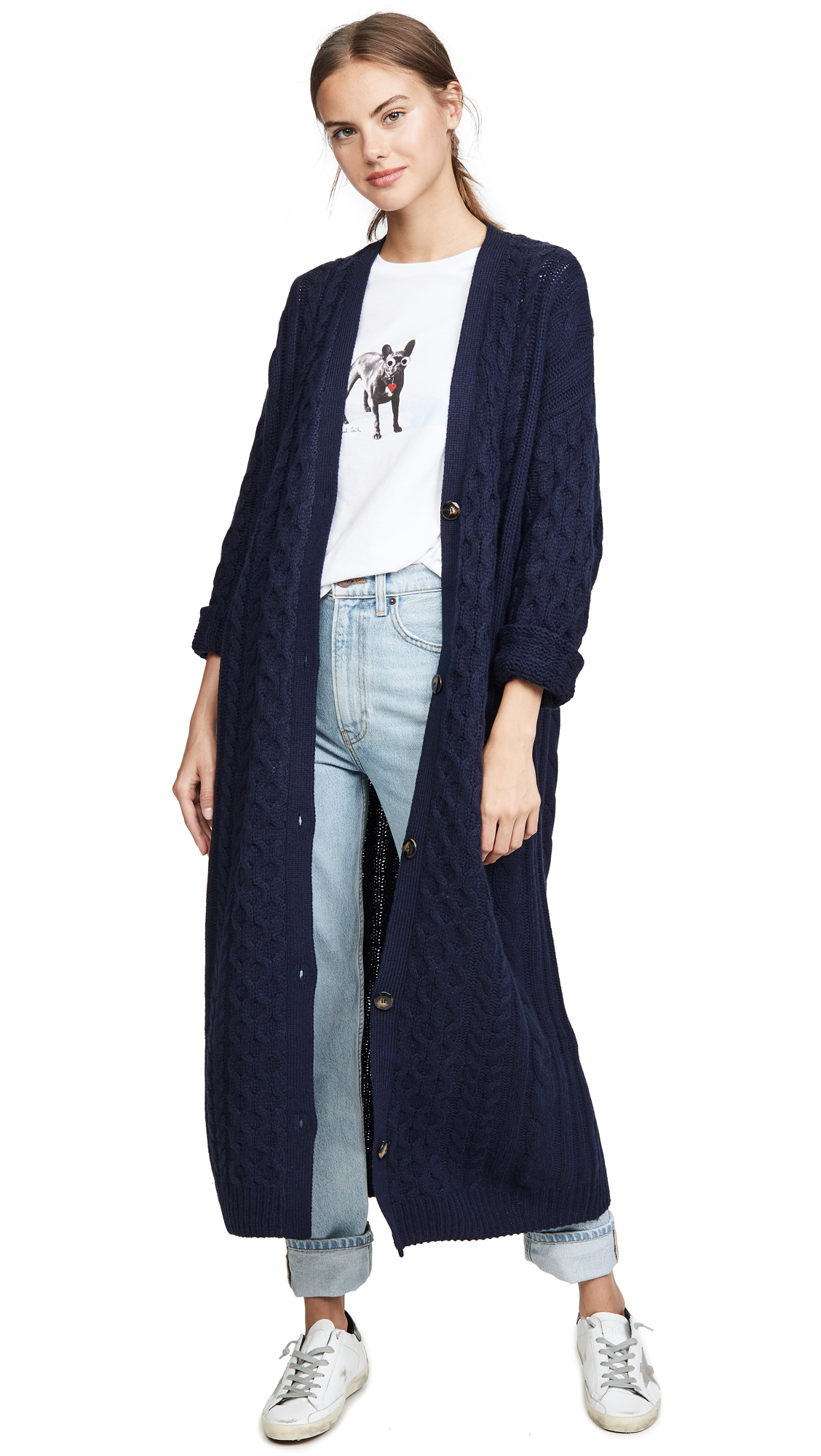 Buy Sablyn online - photo of Sablyn Cable Cashmere Cardigan