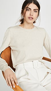 Sablyn Gabriela Cashmere Blend Crew Neck Sweater