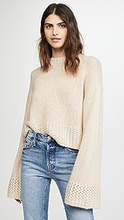 Sablyn Кашемировый вязаный свитер Phoenix