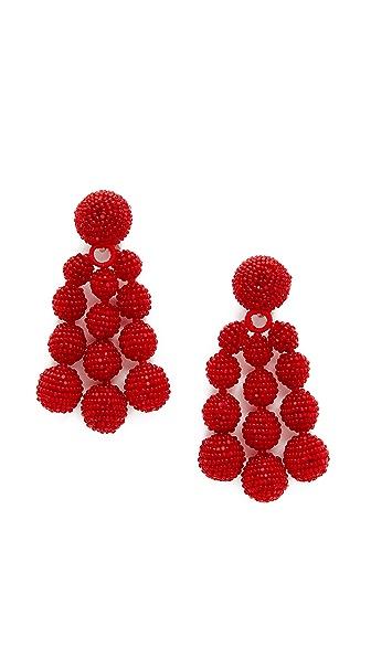 Sachin & Babi Trinity Clip On Earrings