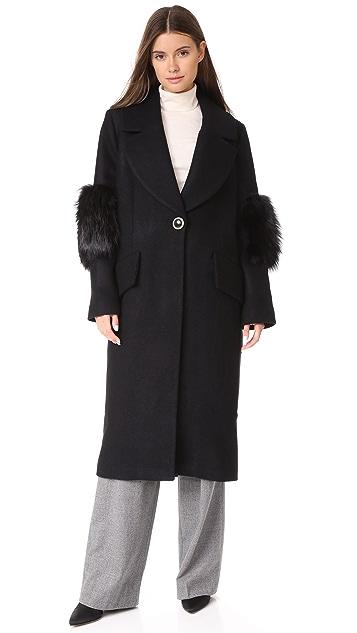 Saks Potts System Wool Coat