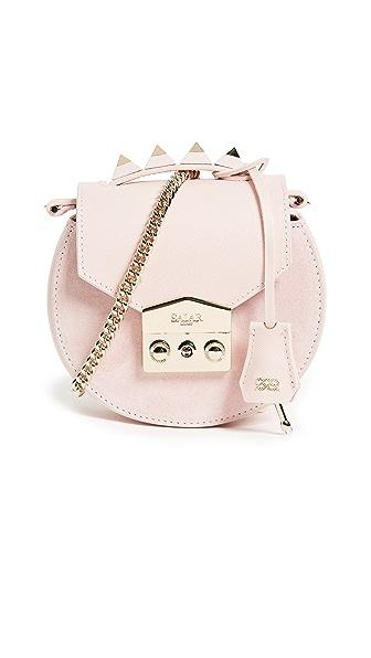 Salar Carol Cross Body Bag In Pink