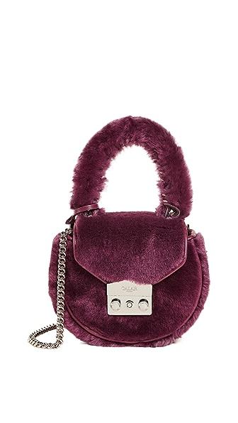 Salar Mimi Mini Teddy Cross Body Bag at Shopbop
