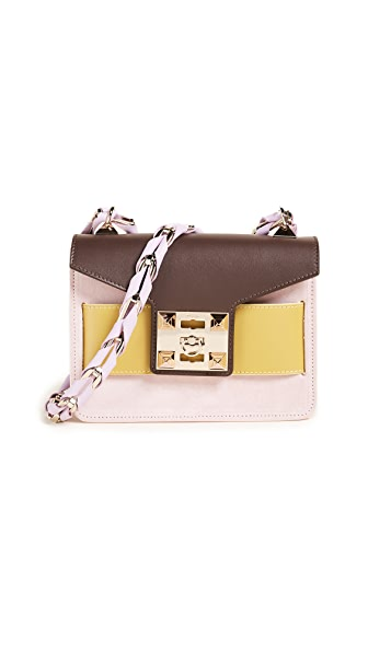 Salar Mila Crossbody Bag In Pink Multi