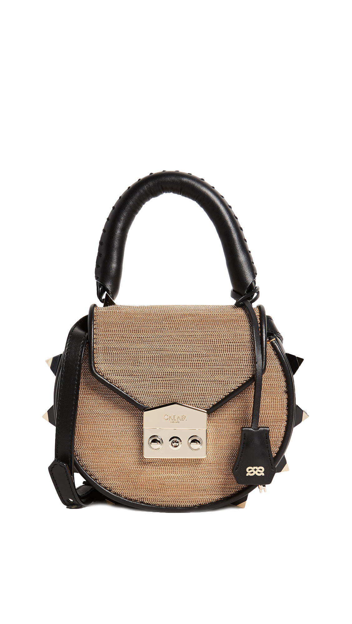 Salar Mimi Disco Cross Body Bag - Gold