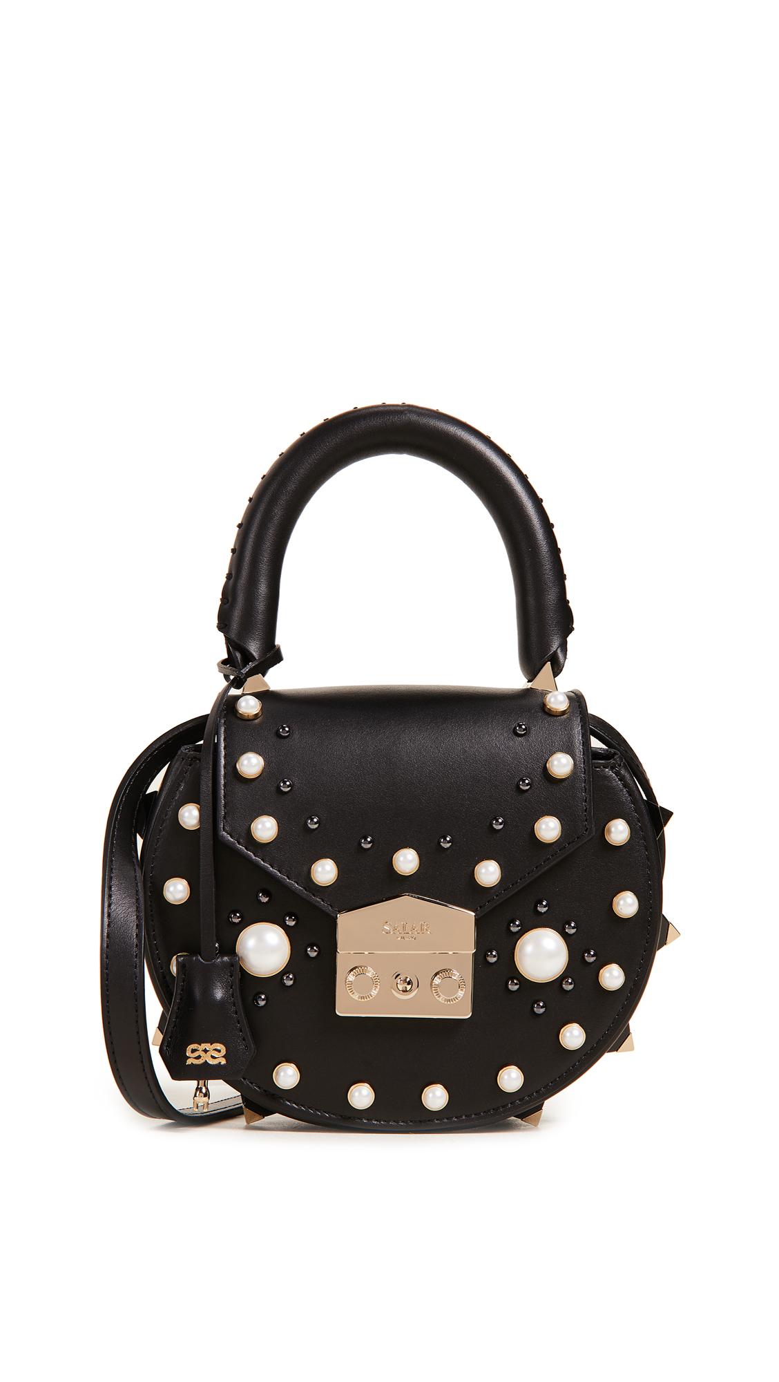 Salar Mimi Imitation Pearl Cross Body Bag