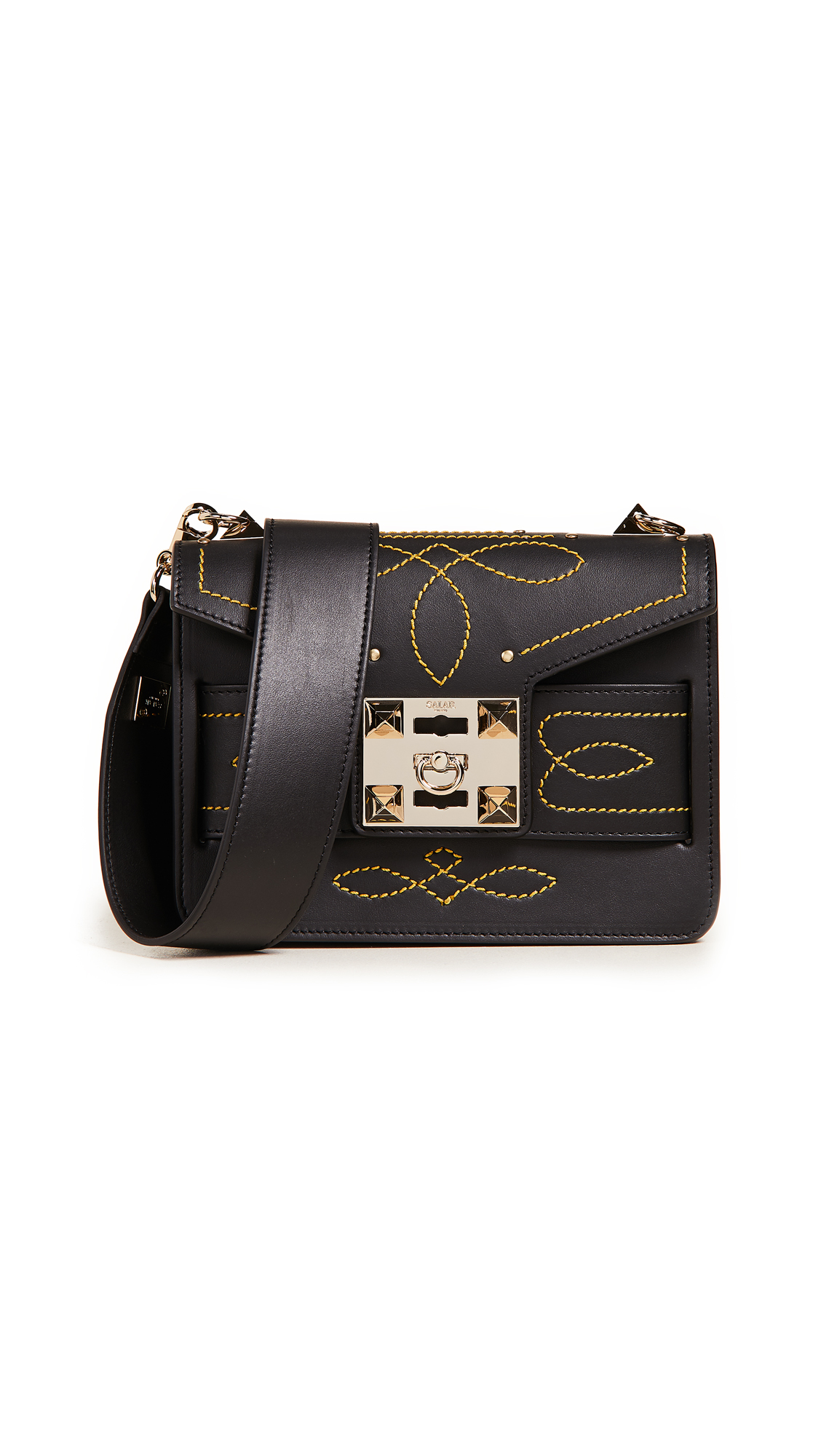 Salar Mila Stitch Cross Body Bag
