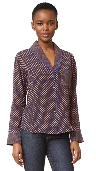 Saloni Peggy Silk Top