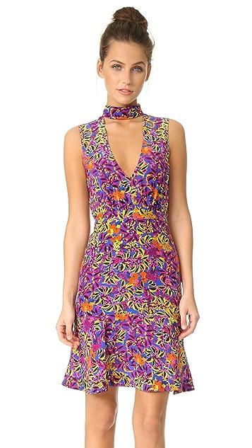Saloni Fleur Mini Dress