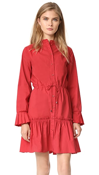 Saloni Billie Dress - Red