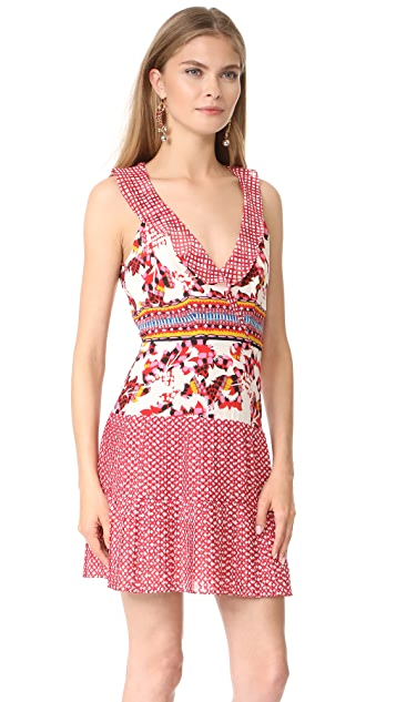 Saloni Amy Short Dress