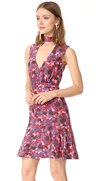 Saloni Fleur B Short Dress