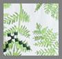 Green Fern Emrboidery