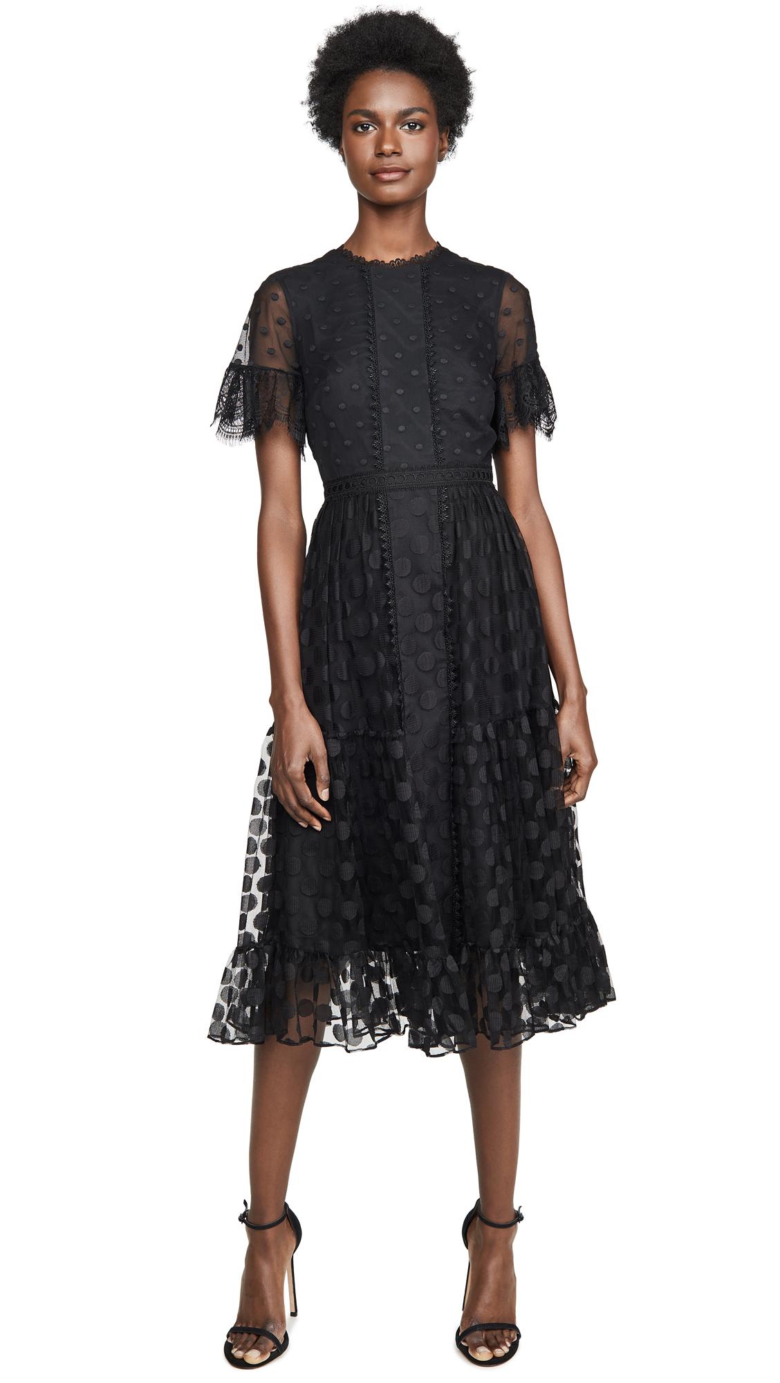 Buy Saloni online - photo of Saloni Andie-B Dress