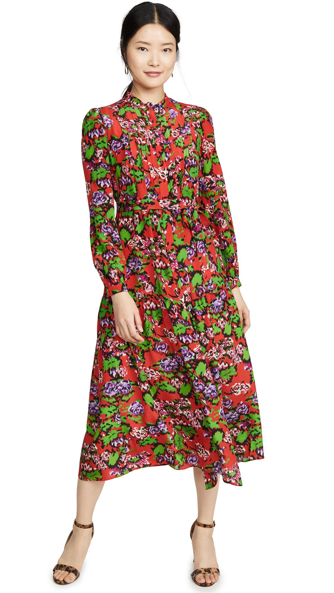 Buy Saloni online - photo of Saloni Remi Dress