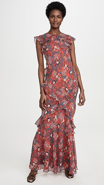 Saloni Dresses TAMARA-B DRESS