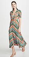 Saloni Lea Long Dress