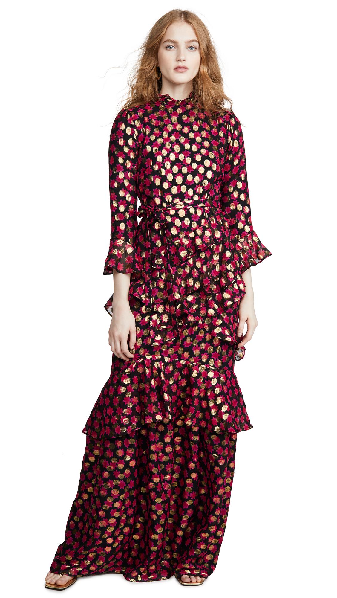 Buy Saloni online - photo of Saloni Marissa Long Dress