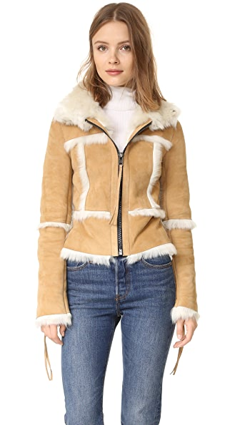 SAM. Stevie Shearling Jacket