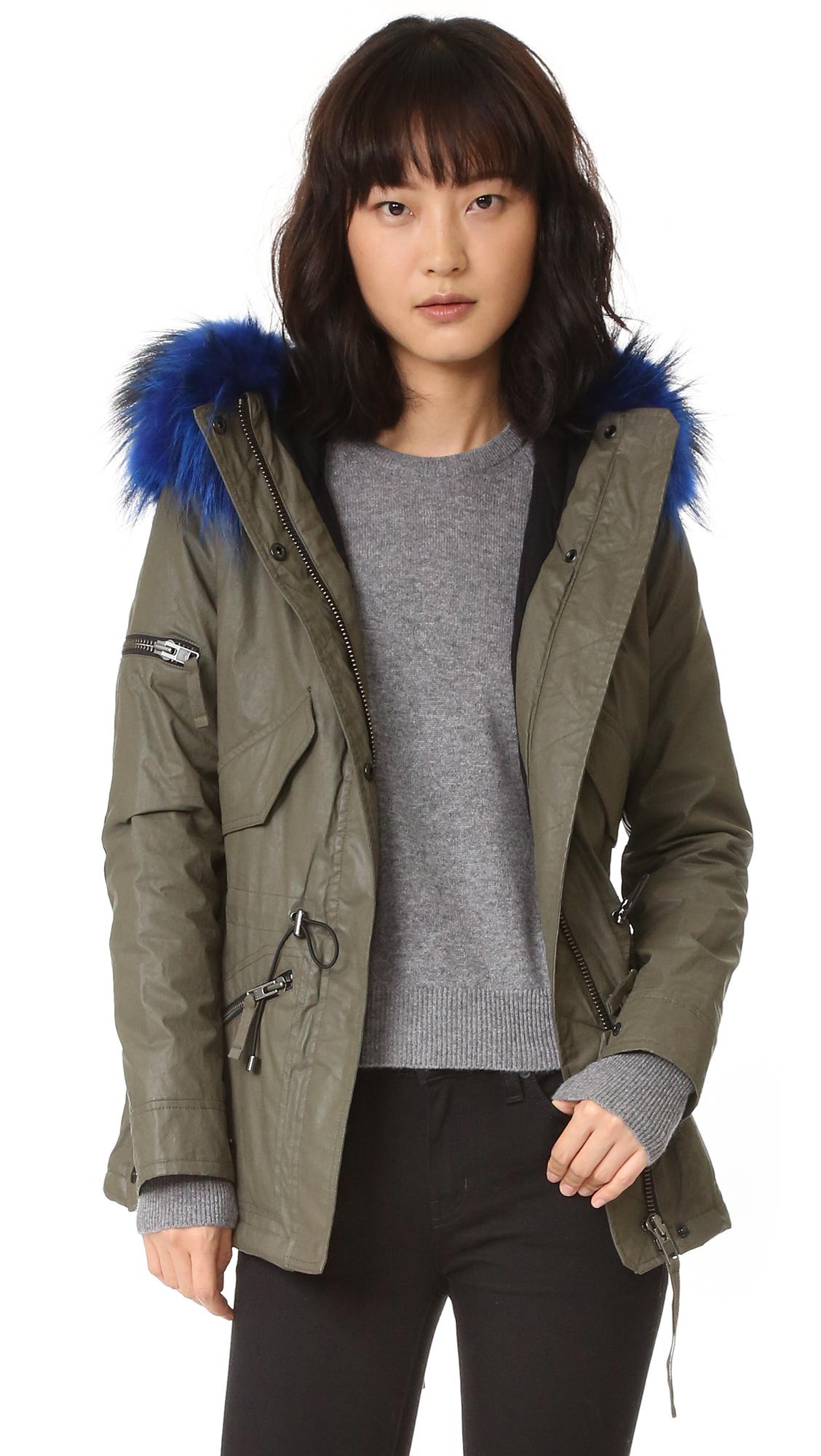 fc0b05f040d Sam. Mini Hudson Parka - Army/Blue | Shop Your Way: Online Shopping ...