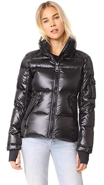 SAM. Freestyle Quilted Jacket In Jet