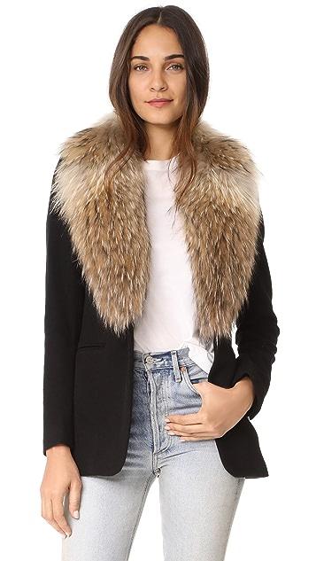 SAM. Ludlow Snap Closure Coat