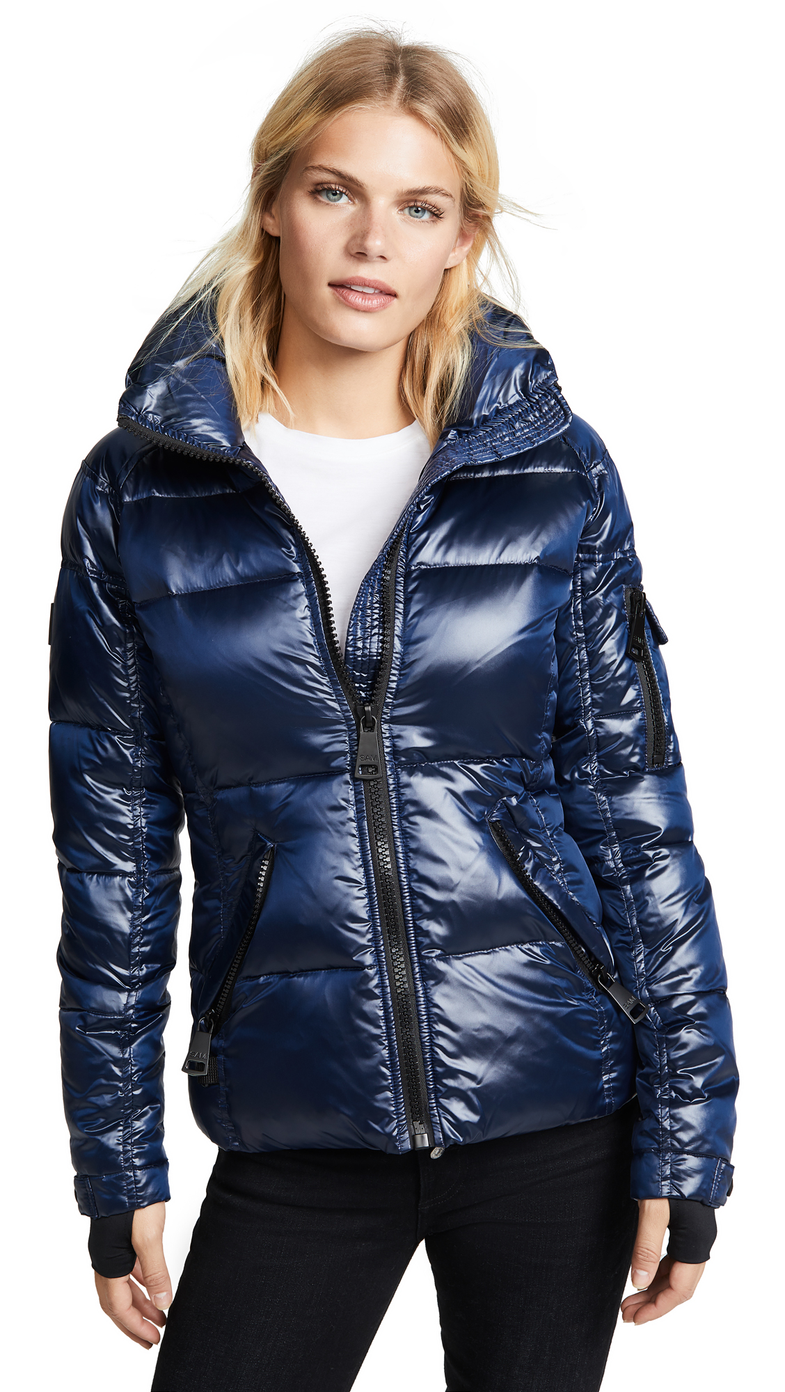 SAM Freestyle Short Down Jacket in Midnight