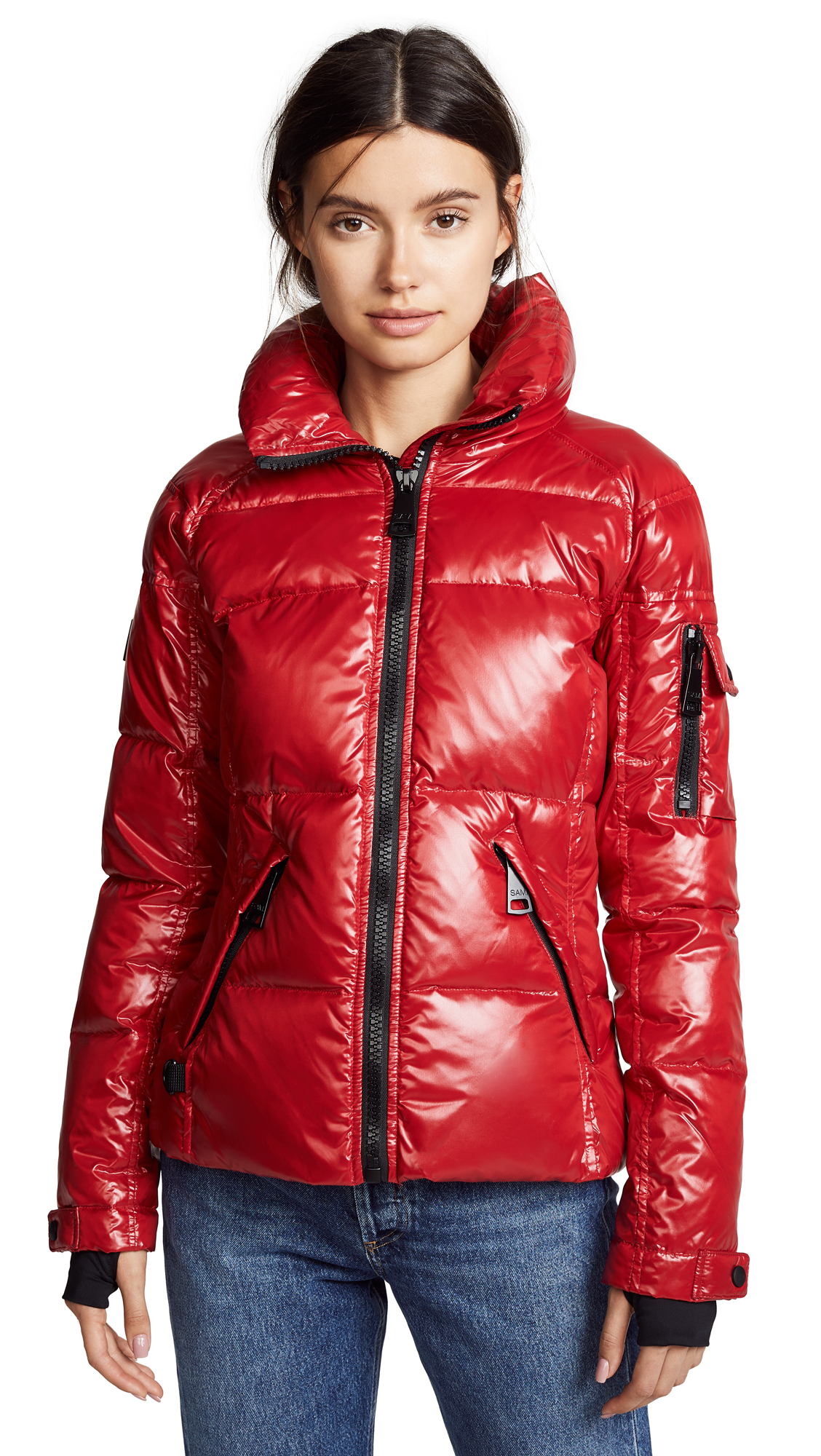 SAM Freestyle Short Down Jacket in Candy