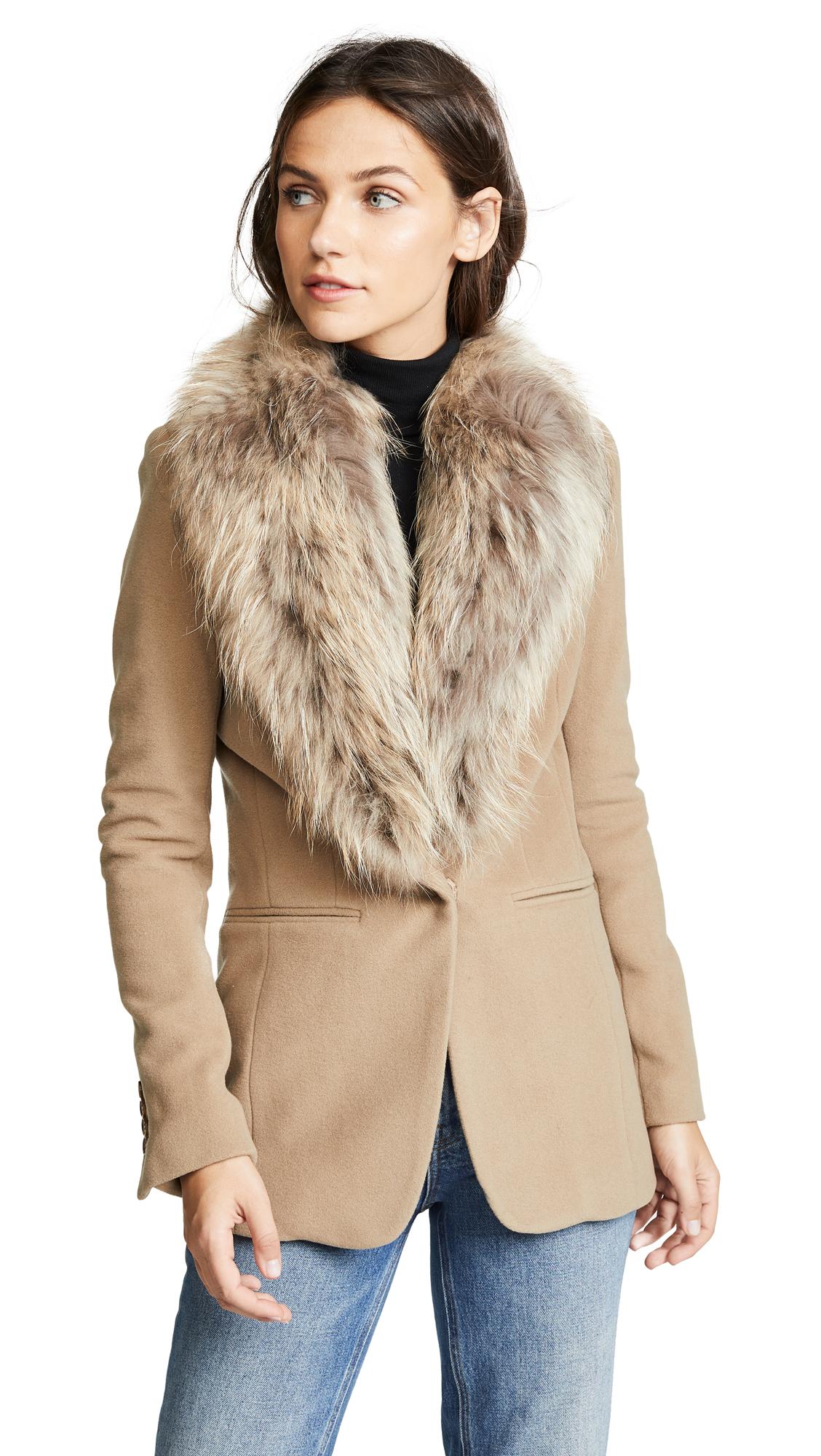 SAM. Ludlow Coat In Camel/Natural