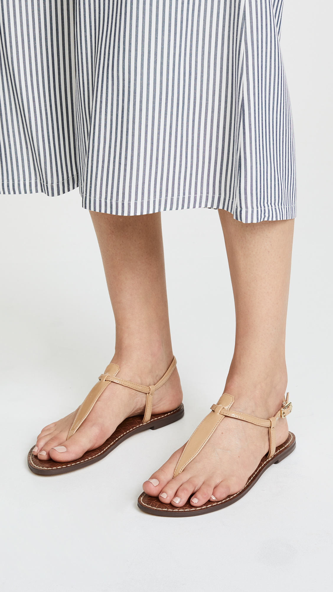 86d9d858b11f4 Sam Edelman Gigi Patent T Strap Sandals