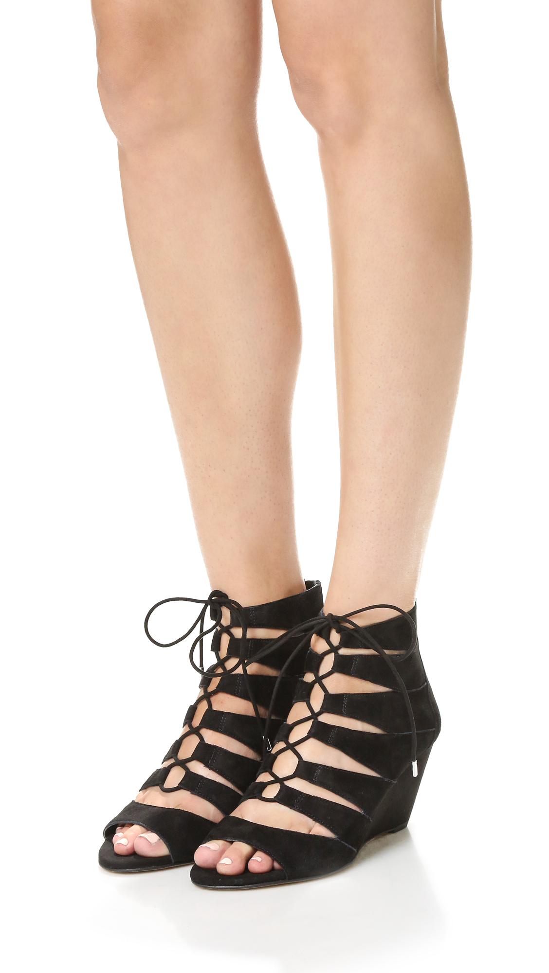 3652939bb1cdf Sam Edelman Santina Wedge Sandals
