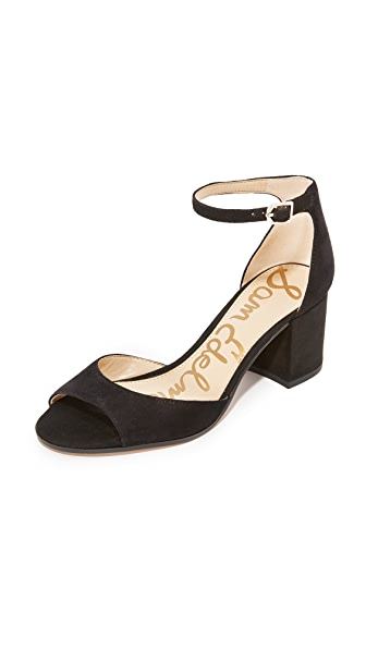 Sam Edelman Susie City Sandals - Black