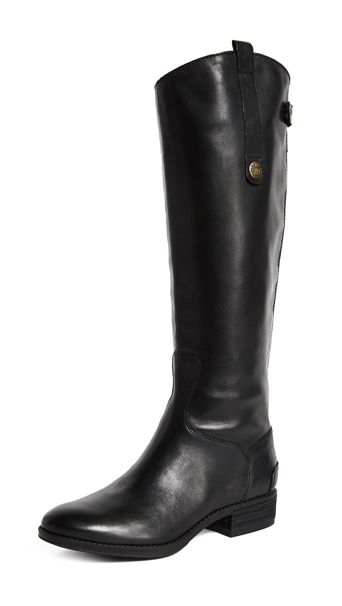 Sam Edelman Penny Riding Boots - Black