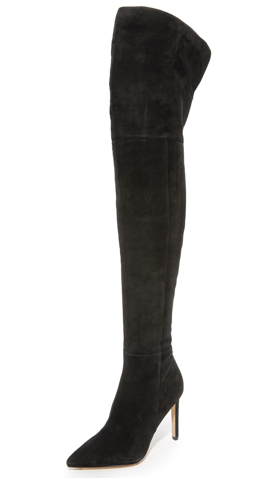 Sam Edelman Bernadette Over The Knee Boots - Black