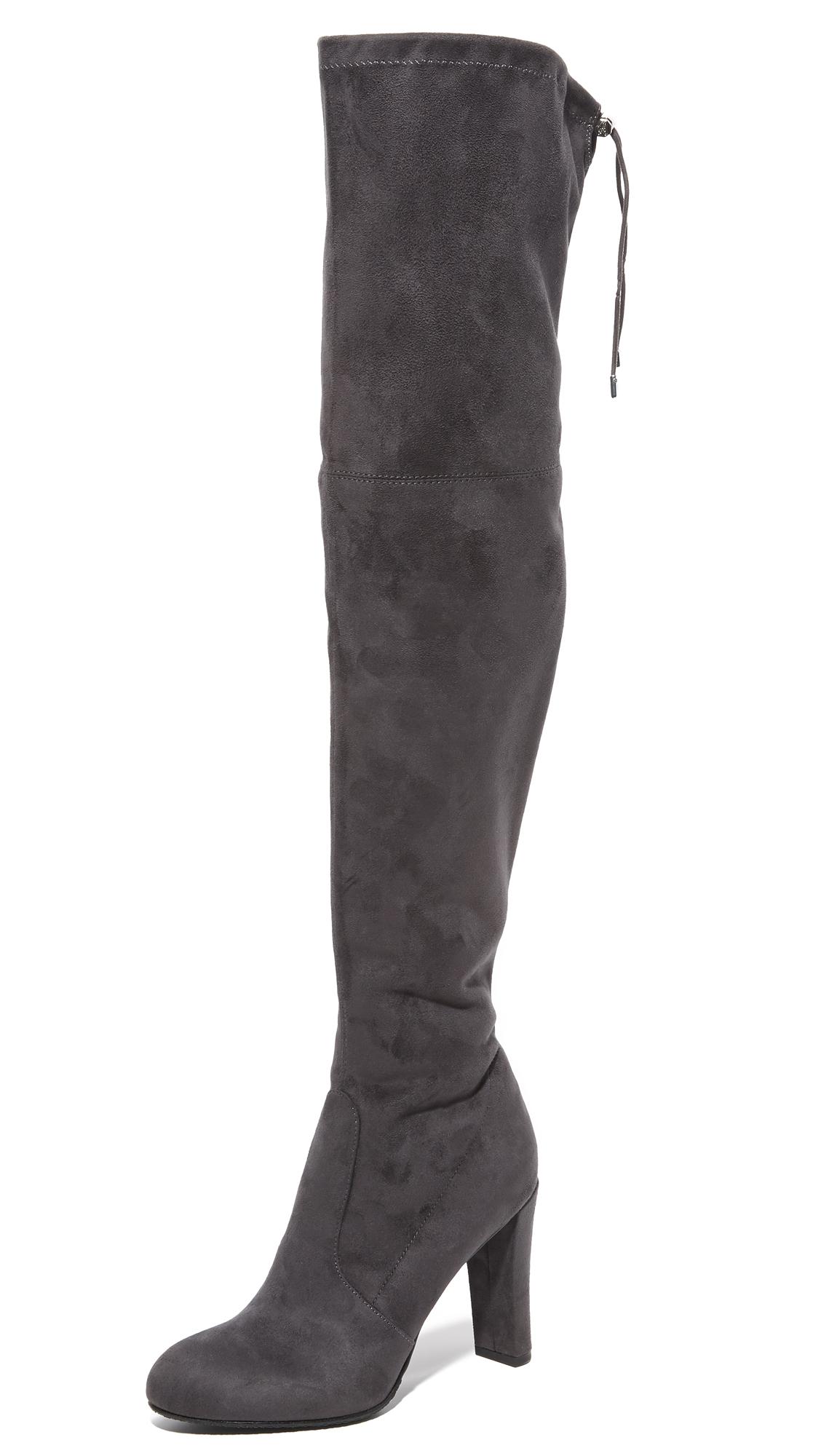 Sam Edelman Kent Over The Knee Boots - Dark Grey