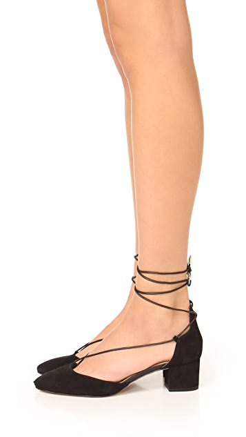 Sam Edelman Loretta Lace Up City Heels